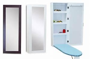 Planche à Repasser Murale : meuble de rangement mural avec planche repasser et ~ Premium-room.com Idées de Décoration