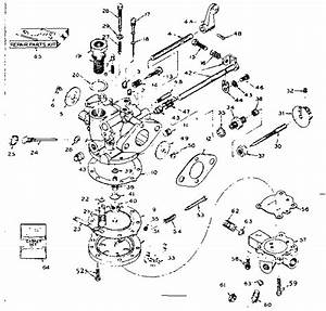 Tillotson Carburetor Diagram  U0026 Parts List For Model