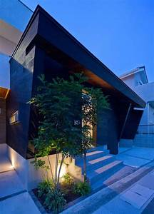 Minimalist, Japanese, Residence, Blends, Privacy, With, An, Airy, Interior