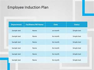 Executive Summary Template Free Employee Induction Plan Powerpoint Template Employee
