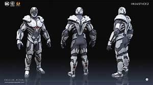 ArtStation - INJUSTICE 2 - Cyborg, Mau Wei Yong ...