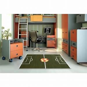 le football marque un but dans la decoration galerie With tapis chambre enfant avec canapé avec pied relevable