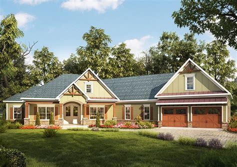 plan dk craftsman house plan  angled garage craftsman style house plans family