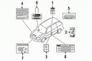 2005 Kia Sedona Parts Diagram