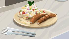salade de pommes de terre jeu de cuisine jeux 2 cuisine html5