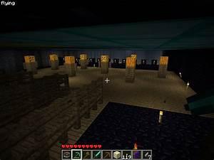 lava cavern castle Minecraft Project