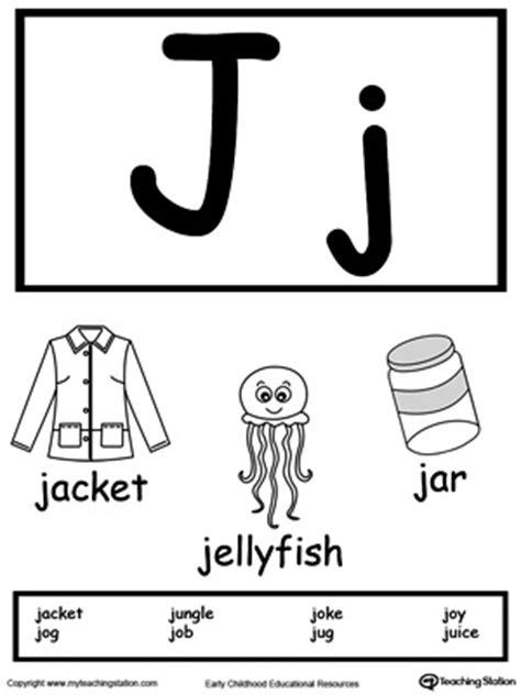 letter j words preschool words starting with letter j myteachingstation 808