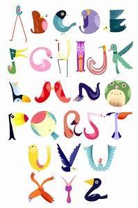 This bird alphabet chart wins us over on merit of ...