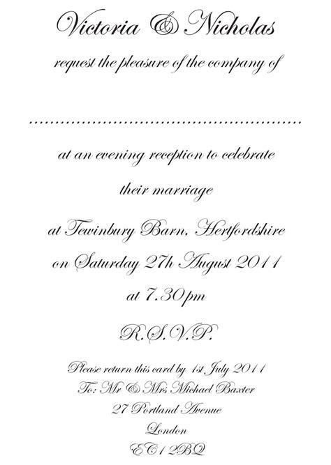 wedding invitation wording formal wedding invitation templates ipunya