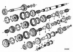 Original Parts For E30 M3 S14 Cabrio    Manual Transmission   Getrag 265 5 Gear Wh Set Parts R