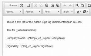 Integrating With Adobe Esign