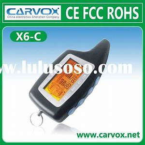 Two Way Car Alarm System Installation Guide  Two Way Car