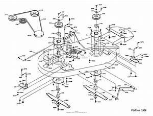 Dixon Ztr 361  1990  Parts Diagram For Mower Deck Assembly  1