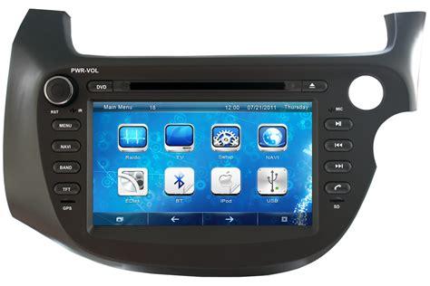 Honda Fit Jazz Right Hand Drive Aftermarket Navigation