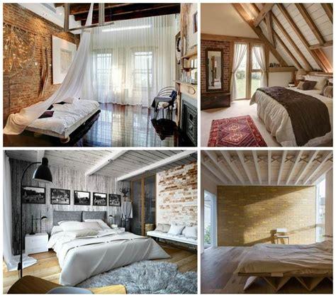 deco chambre bois poutres en bois pour la d 233 co de la chambre 224 coucher moderne