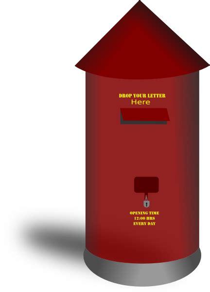 postbox clip art  clkercom vector clip art
