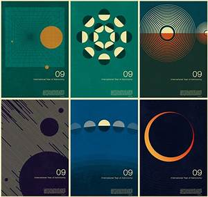 International Year of Astronomy posters - Creative Review