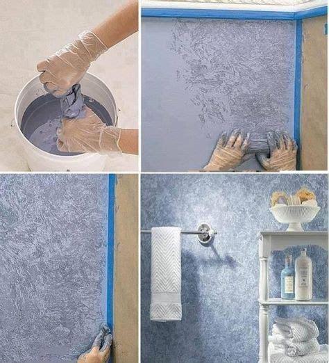 Malertechniken Für Attraktive Wände by Dekorative Maltechnik Wand Badezimmer Wickeltechnik
