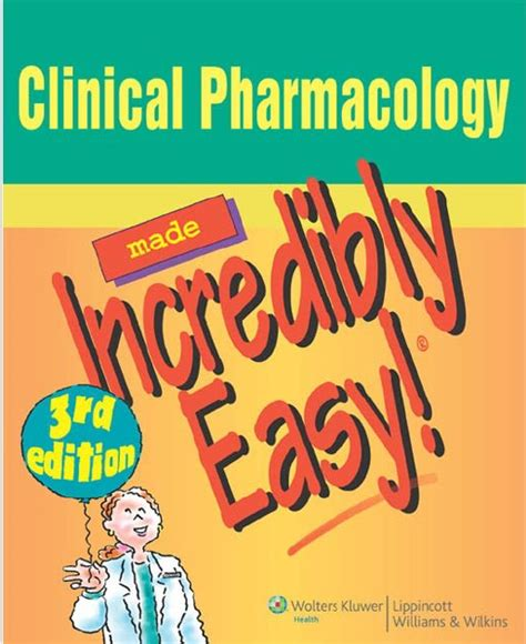 Clinical Pharmacology Made Incredibly Easy Pdf Free Download