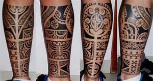 Tatouage Mollet Tribal : mollet tatouage ~ Farleysfitness.com Idées de Décoration