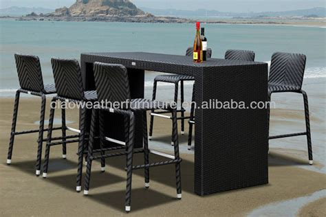 6 person outdoor high top bar tables and chairs buy