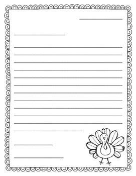 thankful friendly letter writing thanksgiving resources