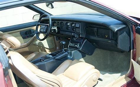 vehicle repair manual 1987 pontiac firebird interior lighting 1989 pontiac firebird trans am gta 2 door coupe 109353