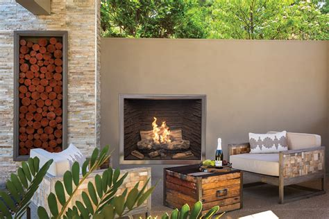 Town Country Tc42 Od Outdoor Gas Fireplace Inseason