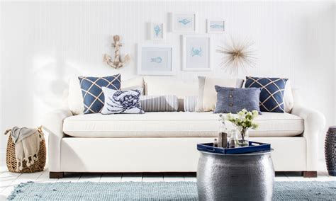 Cape Style Home Decorated Classic Color And Pattern by Beautiful Coastal Furniture Decor Ideas Overstock