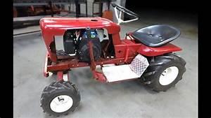 Toro Wheel Horse 520h Garden Tractor