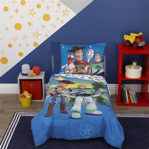 Story Toddler Bed Set by Story Quot Toys In Quot 4pc Toddler Bed Set Target
