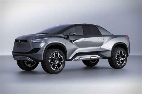 tesla pickup truck concept uncrate