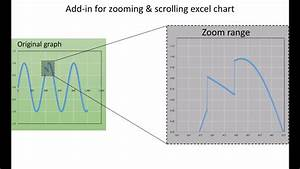 Add Ins For Zooming And Scrolling Excel Chart Youtube