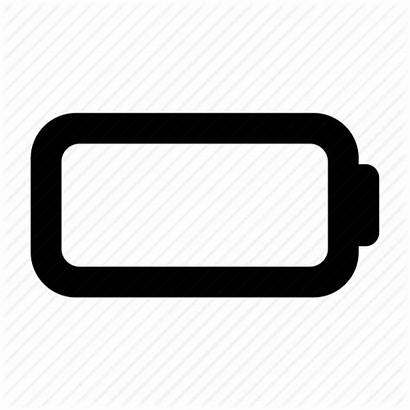 Battery Icon Empty Iphone Icons Charging Accumulator