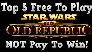 Top 5 Best Free To Play Games - Not Pay To Win! - YouTube