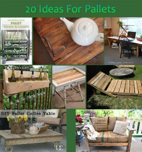 ideas using pallets 20 diy ideas for pallets rustic crafts chic decor