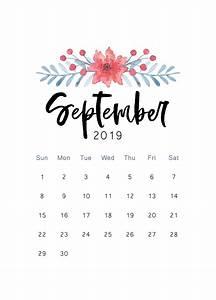 September 2019 Iphone Calendar Wallpaper