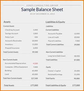 business balance sheet template With year end balance sheet template