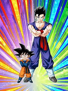 Sons of a Great Father Gohan (Teen) & Goten (Kid) | Dragon ...