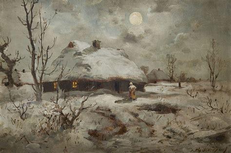 Zimowe pejzaże - Muzeum Narodowe w Krakowie