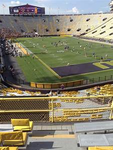 Tiger Stadium Baton Seating Chart Tiger Stadium Section 419 Rateyourseats Com