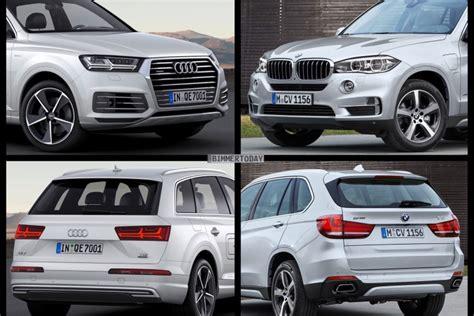 hybrid suv vergleich bild vergleich bmw x5 xdrive40e vs audi q7 e quattro