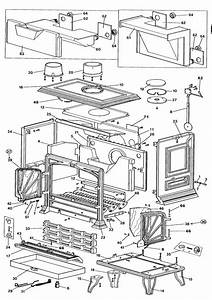 Exploded Diagram For Franco Belge Lorraine Stove