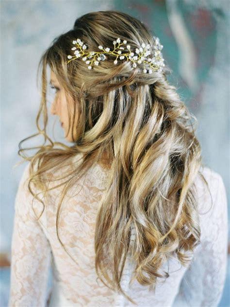 ideas  wedding hair   pinterest