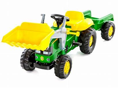 Deere Tractor John Ride Trailer Play Toys