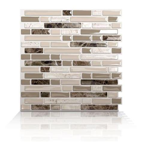 smart tiles bellagio bello bellagio bello peel and stick tile for kitchen backsplash