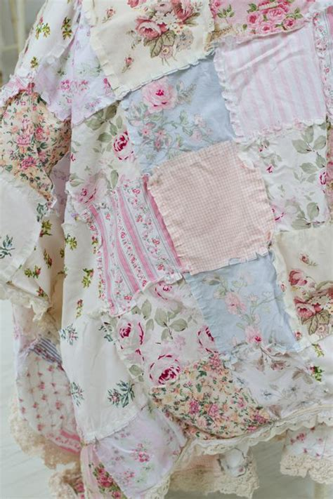 shabby fabrics rag quilt pinterest the world s catalog of ideas