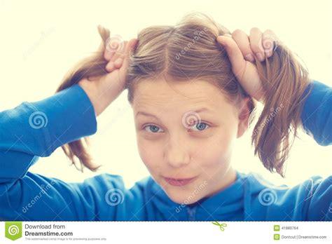 Happy Teen Girl Stock Photo Image Attractive