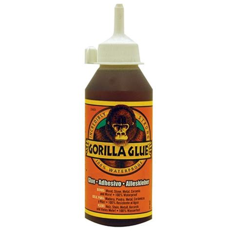 gorilla glue for use with wood metal ceramic 250ml