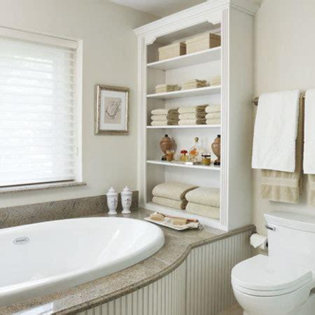 shelves in bathroom ideas home dzine bathrooms ideas for bathroom shelves